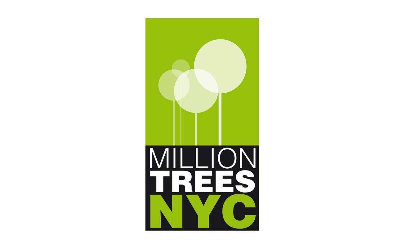 Merit alla One show College Competition 2010 per il progetto di Corporate Identity realizzato pe rMillion Trees NY.