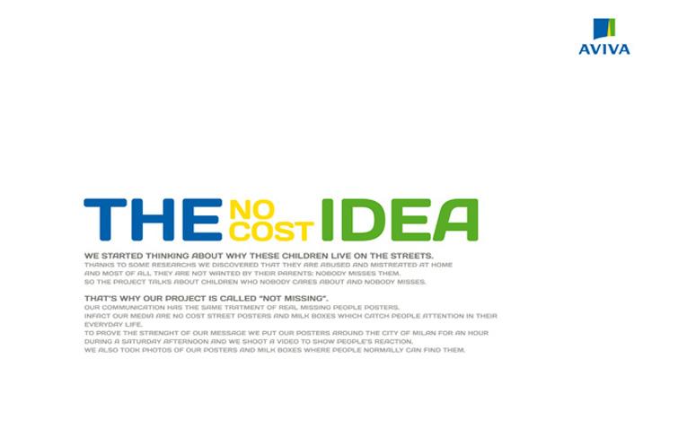 Secondo premio assoluto per la campagna integrata realizzata dagli studenti di Accademia per AVIVA nella sezione Advertising, nell'ambito del D&AD.