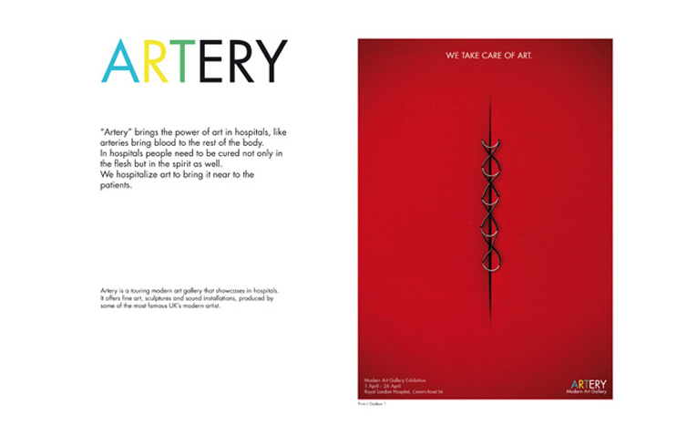 """In Book per la Campagna integrata realizzata per """"The Partners""""nella Sezione Branding."""