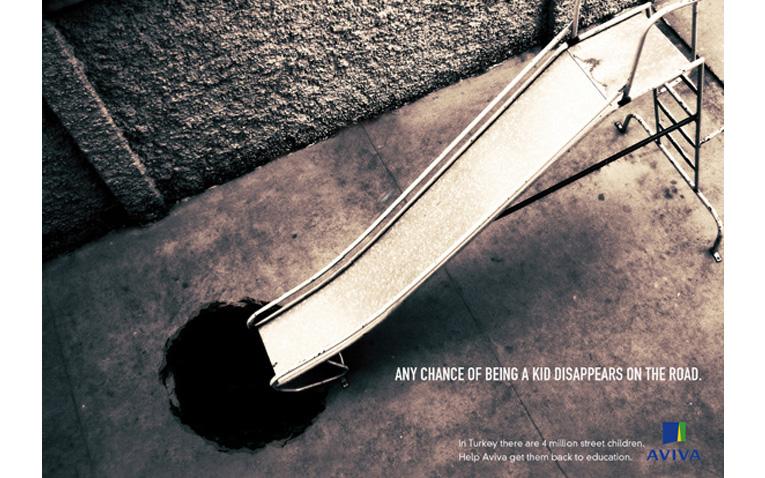 """D&AD: In Book nella Sezione Advertising - alla Campagna integrata realizzata dagli studenti di Accademia per """"AVIVA""""."""