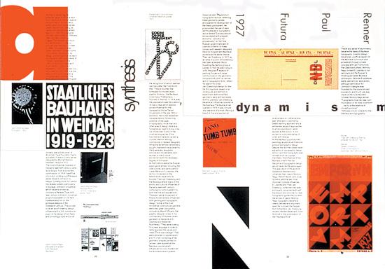 Progetto di impaginazione di una rivista realizzato nell'ambito del D&AD 1994.