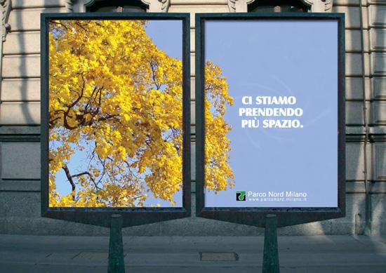 1°Premio alla campagna per il rilancio di Parco Nord realizzata dagli studenti di Art Direction e Copywriting. Concorso promosso dal Comune di Milano e ADCI