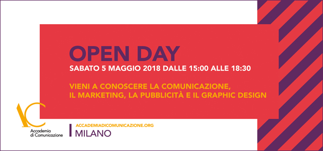 Open day 5 maggio 2018
