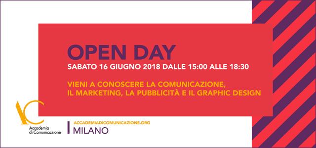 Open day 16 giugno 2018