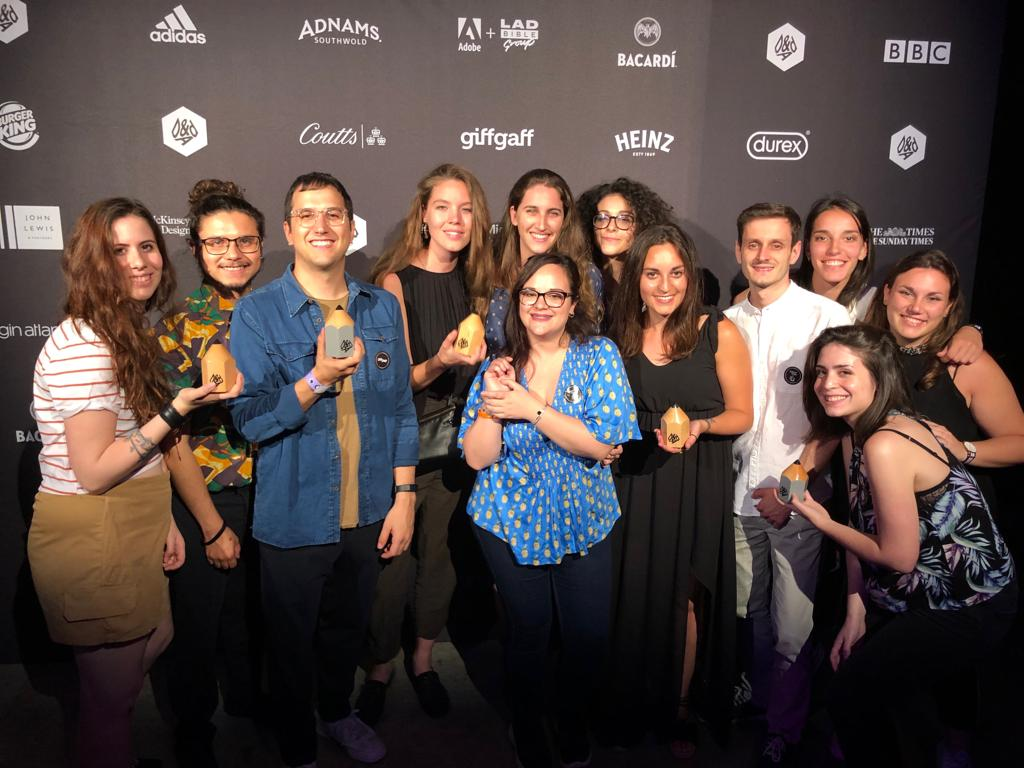 Creatività premiata al D&AD 2019