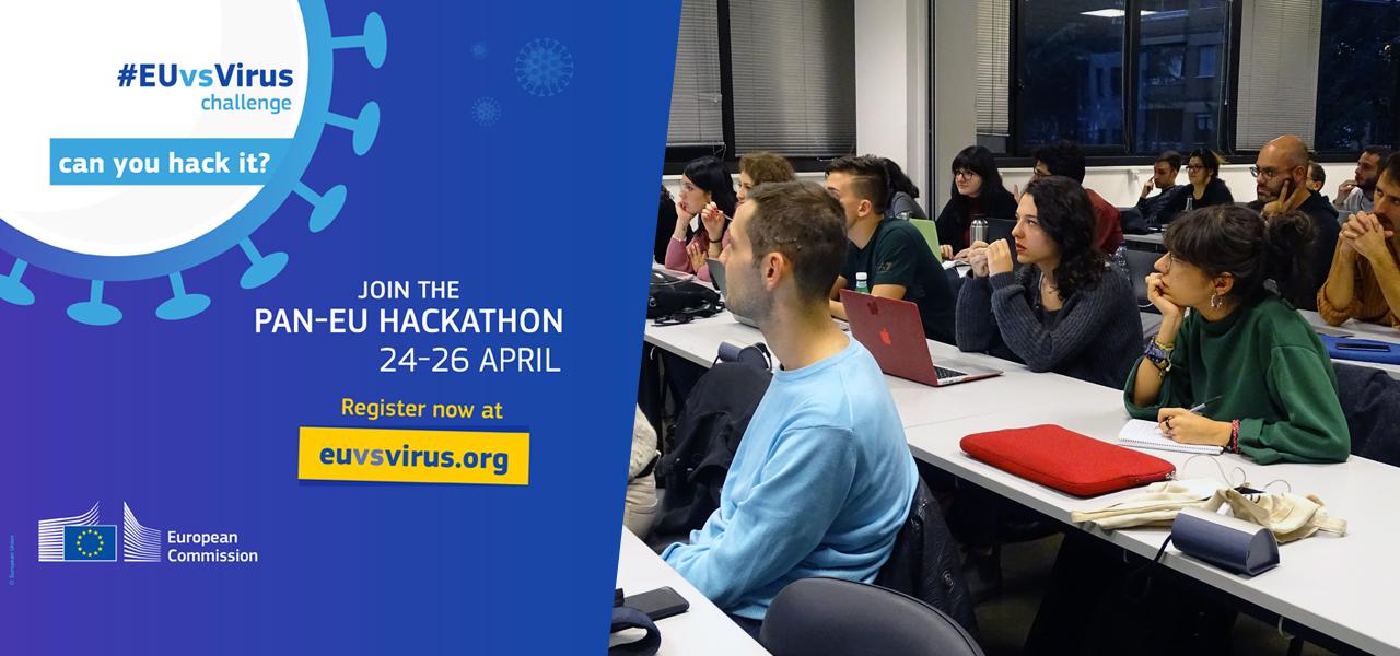 Accademia di Comunicazione partner hackathon europeo EUvsVirus
