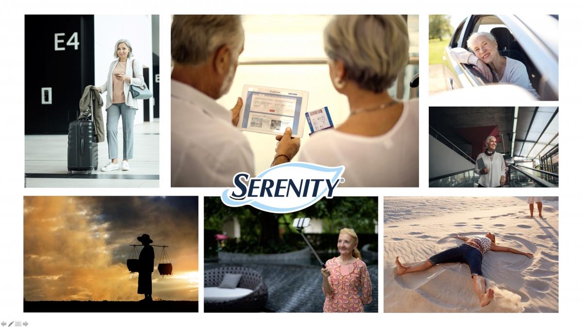 Workshop creativo con Serenity sul tema dell'incontinenza