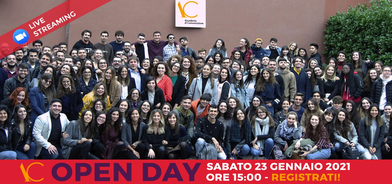 Open Day 23 gennaio 2021 live streaming
