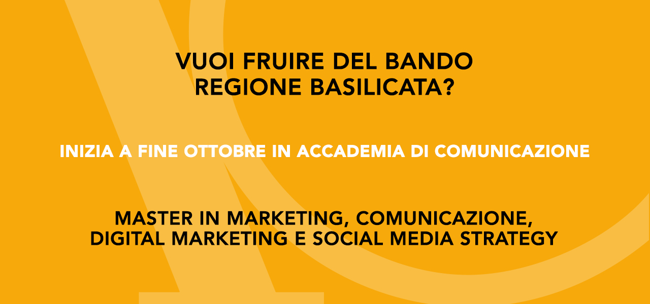 Ai laureati lucani contributi per il Master in Marketing.