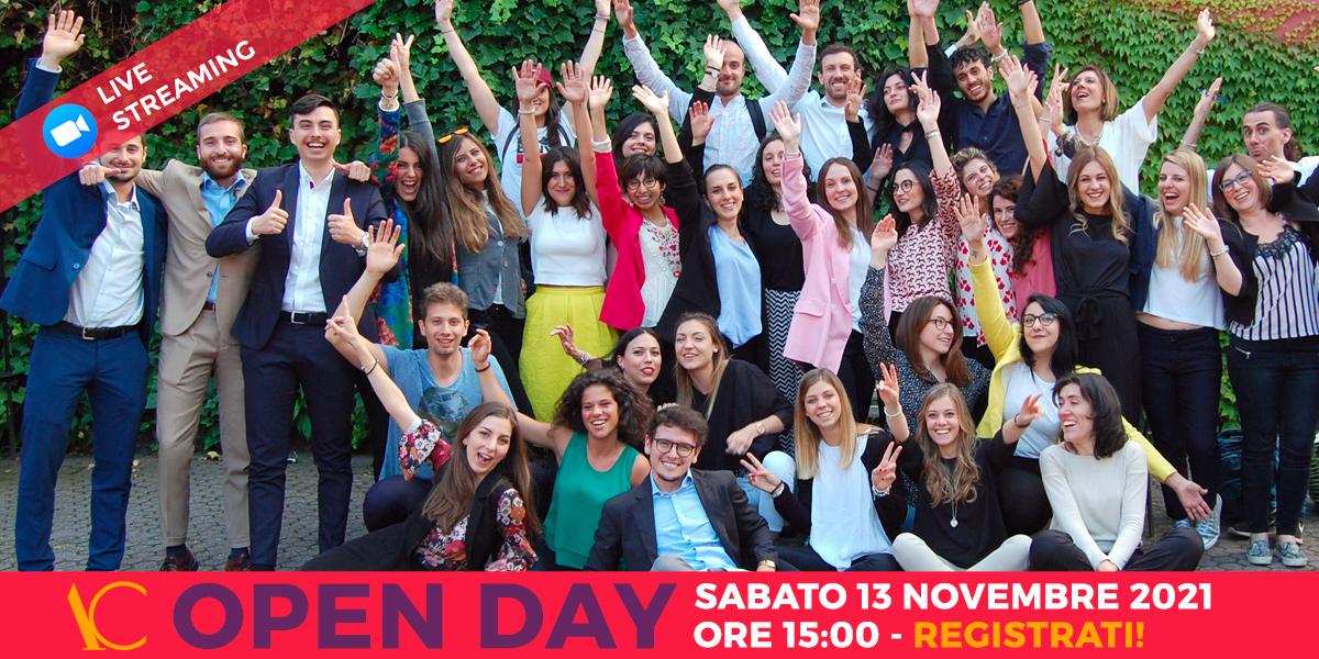 Open Day 13 novembre 2021 Accademia di Comunicazione
